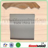 Laminated flooring wooden moulding