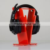 Beautiful Acrylic Headphone Stand or Headset Holder