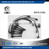 High voltage silicone Ignition wire set, ignition cable kit, spark plug wire 90919-21562 for TOYOTA