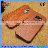 For Samsung note 4 high quality pure wooden bamboo cell phone case