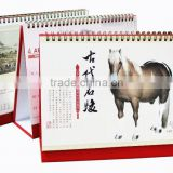 2015 Offset Printing Table Calendar Manufacturer