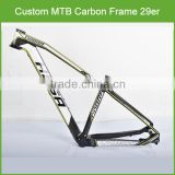 Stock available wholesale/retailing carbon fiber bike frame , 29er / 27.5er / 26er carbon frame mtb