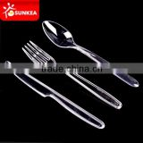 Disposable plastic Chinese soup knife fork spoon                                                                         Quality Choice