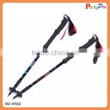 2015 new design Fashion high quality adjusting Telescopic carbon fiber for tubes Walking Stick