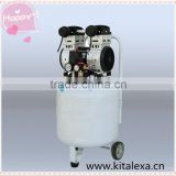 Medical and dental special 550W silent silent air compressor research laboratory medical silent oil free air compressor
