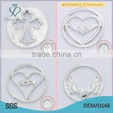 top hot plate window plate alloy floating locket plate