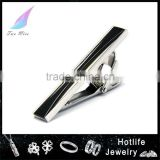 jewelry manufacturer china man black plating clip on tie