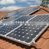 3000w grid tie solar system for home use(solar module+inverter+cable connector+mounting)