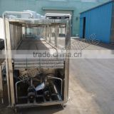 Cooling tunnel/Warming machine for bottle juice