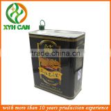 Metal,0.23mm thickness tinplate---Grade A / Recyclable Material and Paint Use olive oil tin cans
