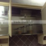 Hot sale UV painting veneer Acrylic banging MDF modular kitchen price is reasonable with top quality