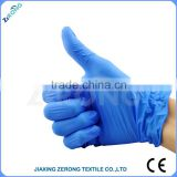 Hot sales disposable blue nitrile medical nitrile examination gloves powder free gloves AQL1.5 with CE,ISO,FDA