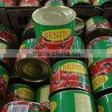 China food canned chopped tomatoes,canned tomato paste brix 28-30%
