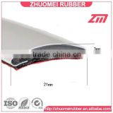 Flexible and flat pvc chrome trim for decoration