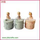 new products for 2014 sweet box with baby statue for baby