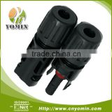 Manufacturer CN40-PFPM-14 Panel Receptacle Good Quality , MC4 Cable Water-Proof Coupler / Receptacle