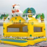 fashion design tropical polar bear model inflatable bouncer, inflatable toys SP-AB017