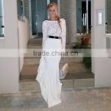 Marvelous Gorgeous Splendid and Posh white evening dress, evening gown, buying wedding dress from china