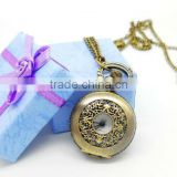 New design watch necklace,pendant watch necklace