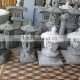 Marble Granite Chinese Stone Lantern Hand Sculpture Carving For Home Decoration Restaurant