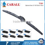 Multi-clip rain glass brush car accessories wiper with 8 adaptors applicable for 98% vehicle