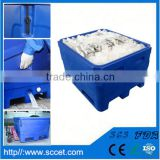 fish farming equipment chilly fish carrying tank plastic fish cage large fish cooler box