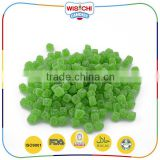Best sale bulk sour fruity high quality cube gummy candy