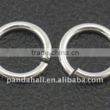 String Silver 925 Jump Rings, Open(H135_7mm)