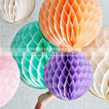 2016 Ball Lanterns Honeycomb Tissue Paper Balls Party Supplies