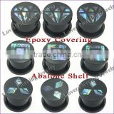 Wholesale Shell High Polish UV Acrylic Ear Flesh Plug Tunnel Piercing Jewelry [UV-RT501]