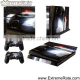 Car protective game accessories vinyl skin for PS4 console protector skin sticker