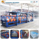 Steel Structure Rock Wool & EPS Sandwich Panel Making Machine