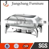 Electric Rectangle Glass Lid Chafing Dish JC-CL16