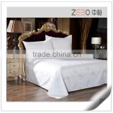 Wholesale Hotel Jacquard Bedding Sets Star Hotel Used White Hotel Cotton Sheets                                                                         Quality Choice