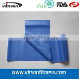VPB011 Ningbo Virson 100% Latex Yoga Pilates Stretching Band/Fitness Resistance Bands