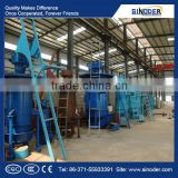 Supply QM3.6m single stage and two stage coal gasifier plant/gasification furance /biomass gasifier plant-Sinoder Brand