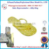 Elegant Moulded Pvc Strap Flip Flops Beads Slipper,Shinning Flourescent EVA Women Slippers/Flip flops mold,PVC shoe sole mould