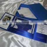 wedding invitation folios with custom printed inserts for wedding cards, rsvp cards and envelopes and thank you cards
