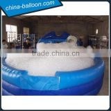 Inflatable foam party pool/ inflatable foam pit/ inflatable bubble bath pool for sale