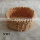 Newborn Knitted Basket Baby Cocoon Baby Nest Newborn Baby Photo Prop