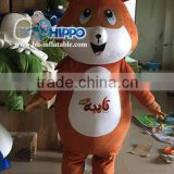 Funny brown bear Mascot Costume for sale
