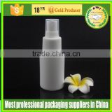 Clear round cosmetic lotion 100ml, 150ml, 200ml, 250ml, 500ml, 750ml, 1000ml Plastic HDPE spray bottle
