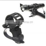 360 Bike Bicycle Flashlight Mount / bicycle light holder / Bicycle Flashlight Torch clip