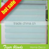 hot sale color optional PVC sunscreen fabric day and night manual&motor roller zebra blind for hotel and office