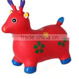 Kids jumping horse animated kids toys inflatable horse