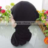 Fashion Cotton Blend Muslim Inner Amira Hijab Caps Islamic Underscarf Hats Ninja Hijab Headcover Wraps