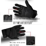 CS Tactical Gloves Outside Training Gym Paintball Outdoor Sports Airsoft Leather Combat Army Military Full Finger Gloves