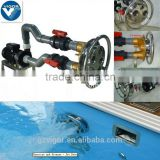 2016 Swimming Pool Bronze water Jet Swim Pump wave Spray for Chilren Exercise