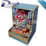 KENYA HOT SALES slot machine for sale indoor table top slot game machine / foot ball mario game 1 coin 1 point