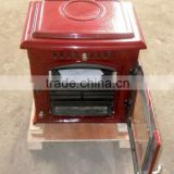 water jacket stove, wood burning stove, cast iron stove, enamel color stove, fireplace